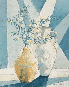 Flowering Olive Tree Branch by Karsten Kirchner