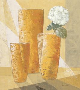 Single White Chysanthemum by Karsten Kirchner