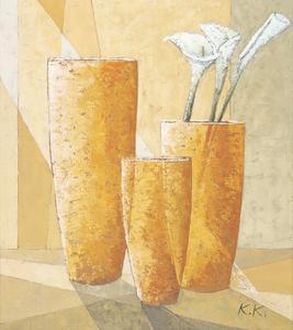 Three Calla Lilies by Karsten Kirchner