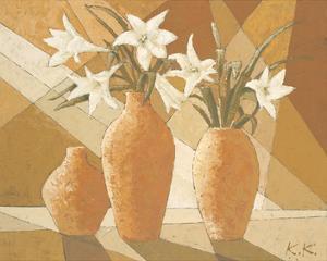 White Fire Lilies by Karsten Kirchner