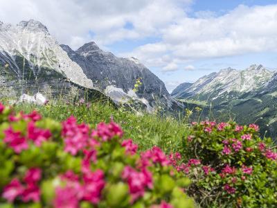 Karwendel Mountain Range, Tyrol, Austria-Martin Zwick-Photographic Print