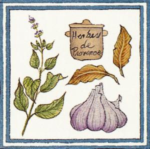 Herb And Garlic by Karyn Frances Gray