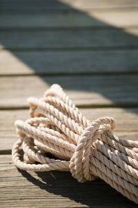 Boat Rope by Karyn Millet