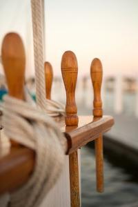 Boat Ties by Karyn Millet