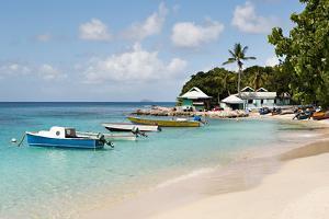 Caribbean Boats I by Karyn Millet