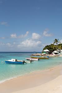 Caribbean Boats III by Karyn Millet