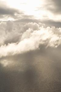 Clouds Over Water I by Karyn Millet