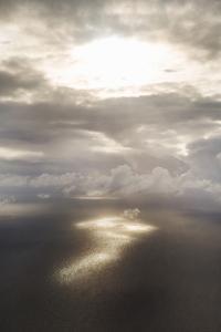 Clouds Over Water II by Karyn Millet
