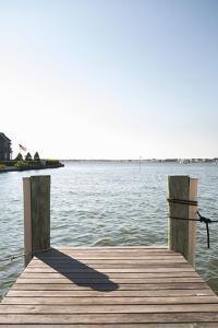 Dock View I by Karyn Millet
