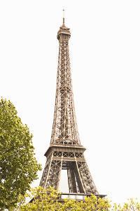 Eiffel Tower III by Karyn Millet