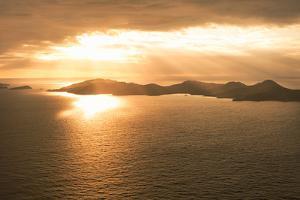 Island Sunset I by Karyn Millet