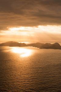Island Sunset II by Karyn Millet