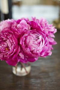 Peonies in Vase by Karyn Millet