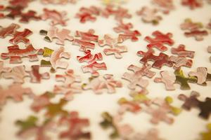 Puzzle III by Karyn Millet