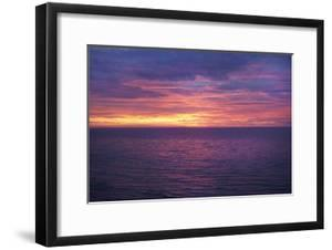 Sunset at Sea II by Karyn Millet