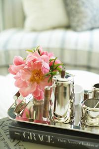 Tea and Flowers by Karyn Millet