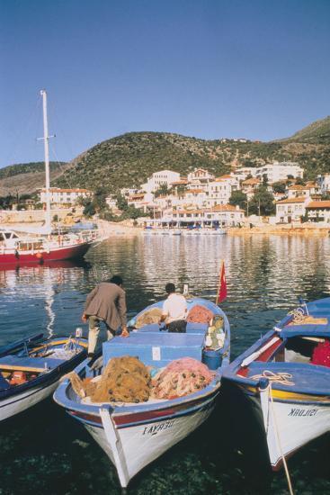 Kas Harbour, Turkey-Vivienne Sharp-Photographic Print