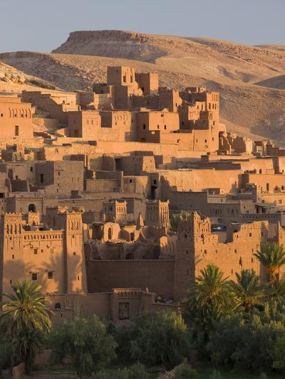 Kasbah Ait Benhaddou, Backdrop to Many Hollywood Epic Films, Near Ouarzazate, Morocco--Photographic Print