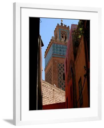 Kasbah Mosque, Marrakesh, Morocco-Doug McKinlay-Framed Photographic Print
