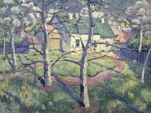 Apple Trees, 1904 by Kasimir Malevich