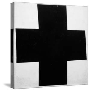 Black Cross by Kasimir Malevich