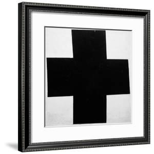 Black Cross by Kasimir Malevich