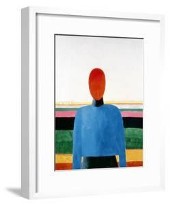 Bust of Woman by Kasimir Malevich