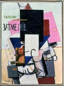 Composition with the Mona Lisa, c.1914 by Kasimir Malevich