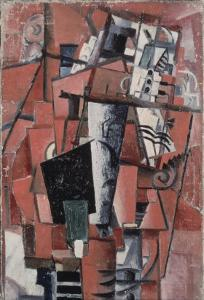 Lady by the Piano by Kasimir Malevich
