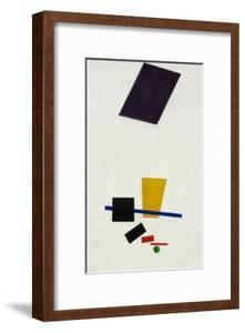 Painterly Realism of a Football Player ? Color Masses in the 4th Dimension by Kasimir Malevich