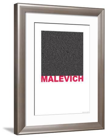 Kasimir Malevich Poster-NaxArt-Framed Art Print