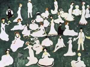 Recovery of a Society, c.1908 by Kasimir Malevich