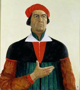 Self Portrait as an Artist, 1933 by Kasimir Malevich