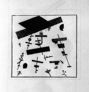 Suprematist Drawing by Kasimir Malevich