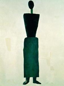Suprematist Female Figure, 1928-32 by Kasimir Malevich