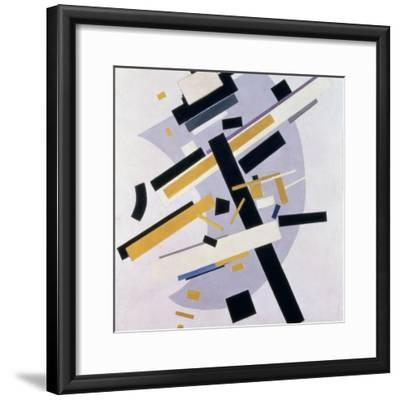 Supremus No. 58 Dynamic Composition in Yellow and Black, 1916