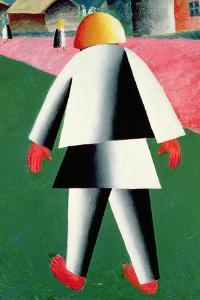 The 'Cabby' or Droshky Driver by Kasimir Malevich