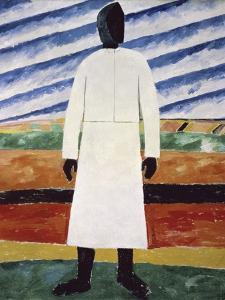 The Farmer by Kasimir Malevich