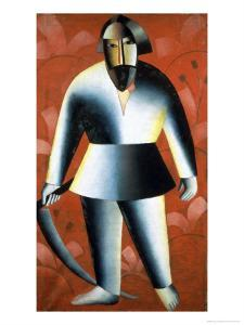 The Mower by Kasimir Malevich
