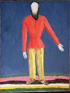 The Peasant, 1928-32 by Kasimir Malevich