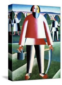 The Reapers by Kasimir Malevich
