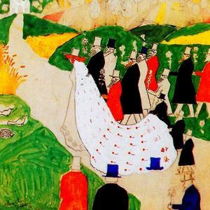 The Wedding, 1907 by Kasimir Malevich