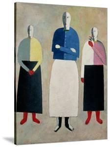 Three Little Girls, 1928-32 by Kasimir Malevich