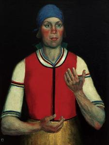 Worker, 1933 by Kasimir Malevich