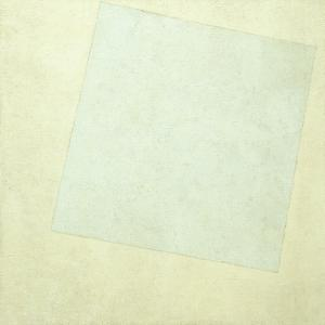 Suprematist Composition. White on White, 1918 by Kasimir Severinovich Malevich