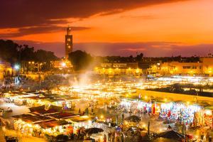 Jamaa El Fna, Marrakesh, Morocco. by kasto