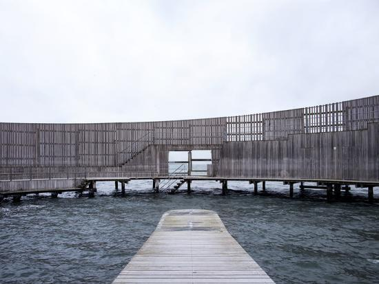 Kastrup Sea Baths, Kastrup, Copenhagen, Denmark--Photographic Print
