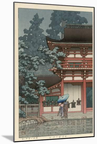 Kasuga Shrine, Nara-Kawase Hasui-Mounted Giclee Print