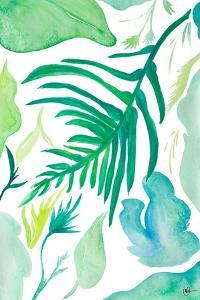 Green Water Leaves I by Kat Papa