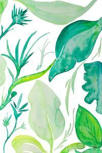 Green Water Leaves II by Kat Papa